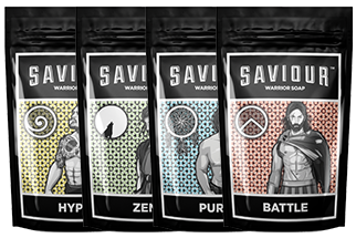 Saviour Warrior Soap Pack