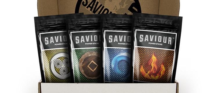 Saviour World Power Sticks