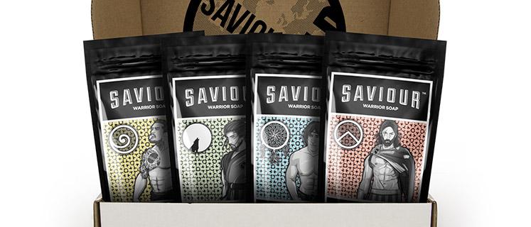 Saviour World Warrior Soap