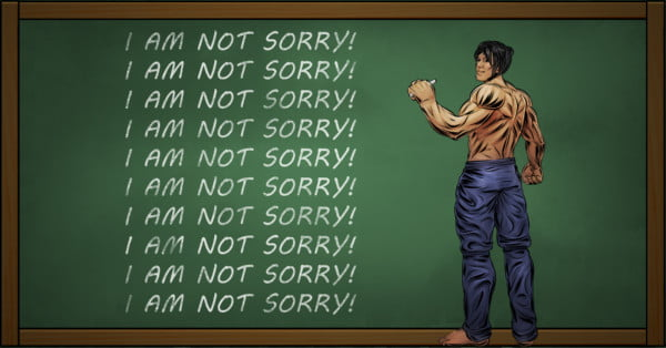 DO NOT APOLOGISE!