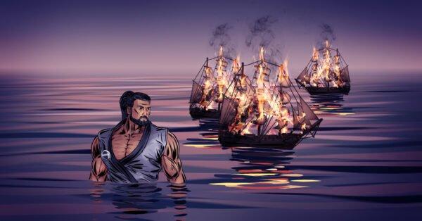 BURN THE SHIPS!